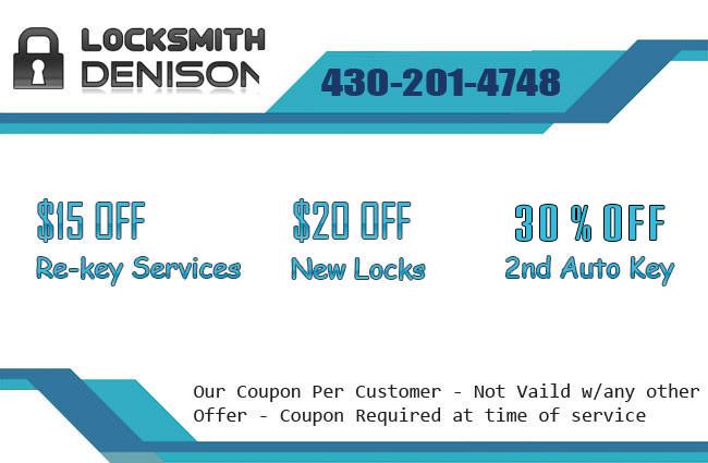 Locksmith Denison Offer